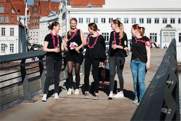 Junggesellenabschied in Lübeck